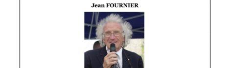 Hommage à Jean Fournier, vice-président de l'association